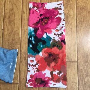 Bisou Bisou printed tube skirt